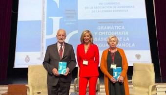 Presentación del libro Gramática y ortografía básicas de la lengua española.