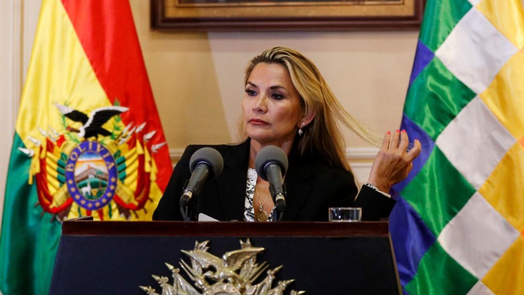 Foto: Presidenta de Bolivia dice que Evo Morales no podrá ser candidato