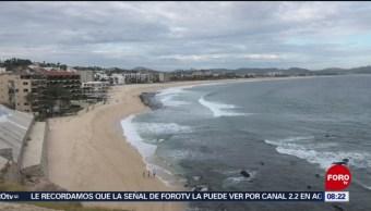 FOTO: Prevén lluvias en Baja California Sur por depresión tropical 'Raymond', 17 noviembre 2019