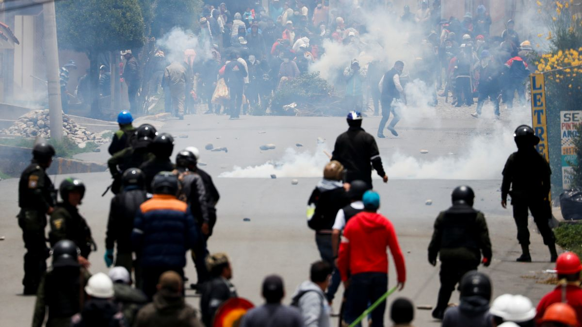 OEA pide a Bolivia acción 'urgente' para nuevas elecciones