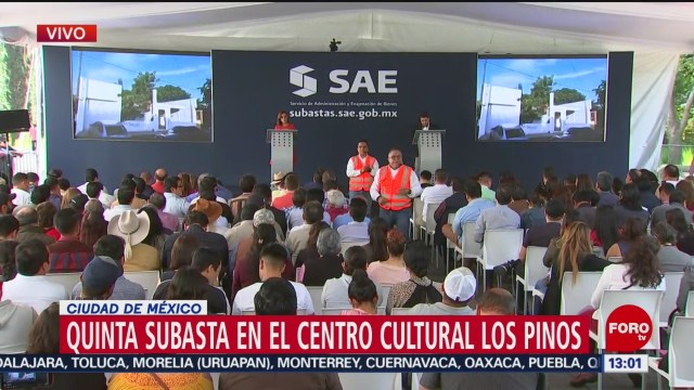 FOTO: Quinta subasta en el Centro Cultural Los Pinos, 10 noviembre 2019