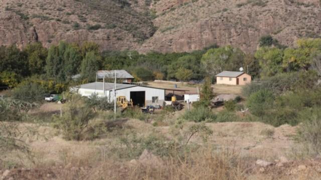 Foto: En el Rancho La Morita viven cientos de integrantes de la Familia LeBarón, una comunidad de origen mormón y dedicada a la agricultura, 10 noviembre 2019