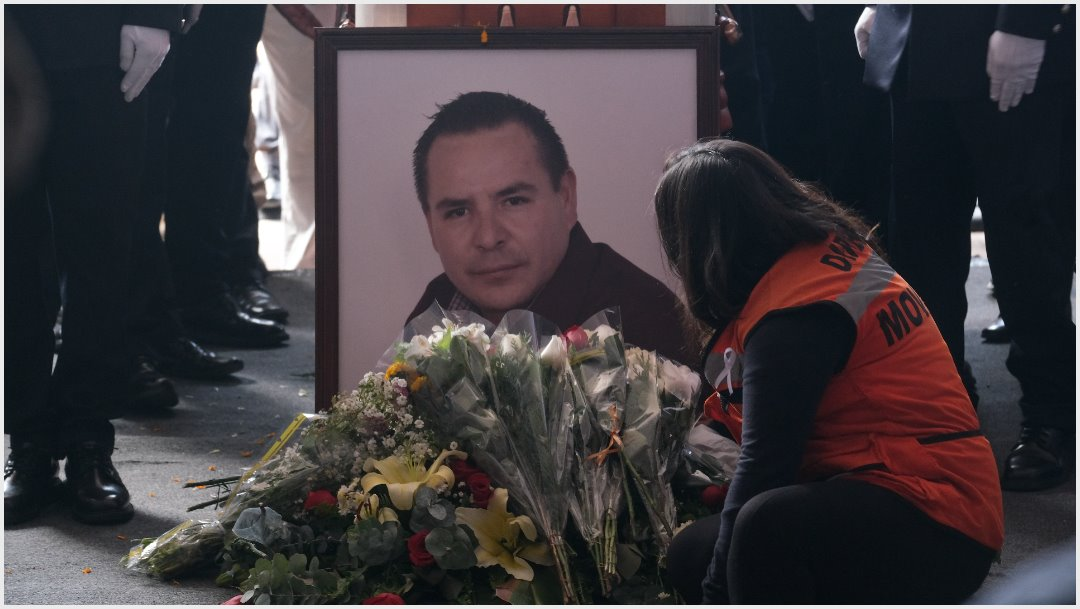 Imagen: Francisco Tenorio Contreras fue asesinado, 10 de noviembre de 2019 (GRACIELA LÓPEZ /CUARTOSCURO.COM)