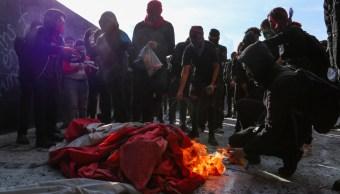 bandera quemada unam rectoria