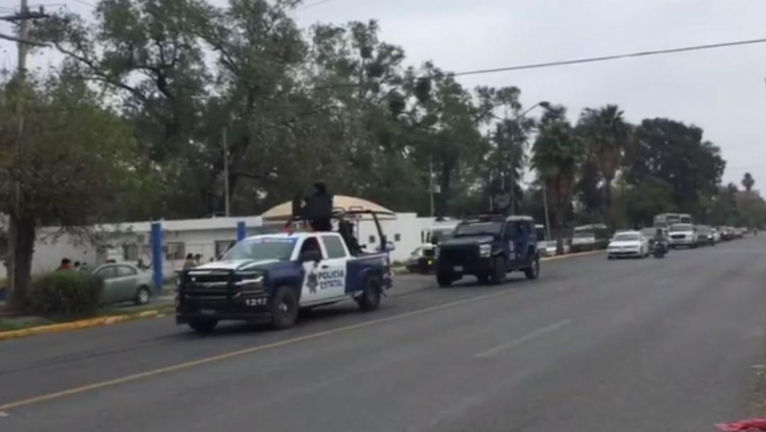 Foto: Reos de Ciudad Victoria, Tamaulipas, son reubicados en otros penales