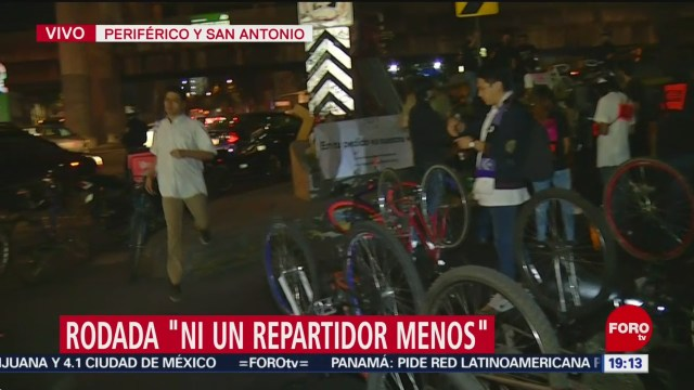 Foto: Repartidores Bici Rodada Ni Un Repartidor Menos 27 Noviembre 2019