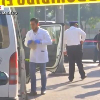 Asesinan a mujer durante asalto a transporte público en CDMX