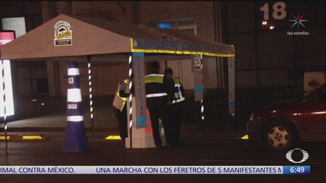 Retendrán licencia a personas que caigan en 'El Torito', CDMX