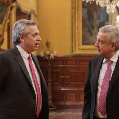 México y Argentina profundizarán relaciones comerciales: Alberto Fernández