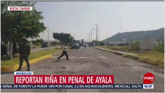 Foto: Al menos un reo falleció tras riña en Morelos, 24 de noviembre de 2019 (Foro TV)