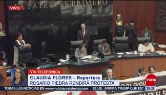 FOTO: Rosario Piedra sí rendirá protesta para dirigir la CNDH, 12 noviembre 2019