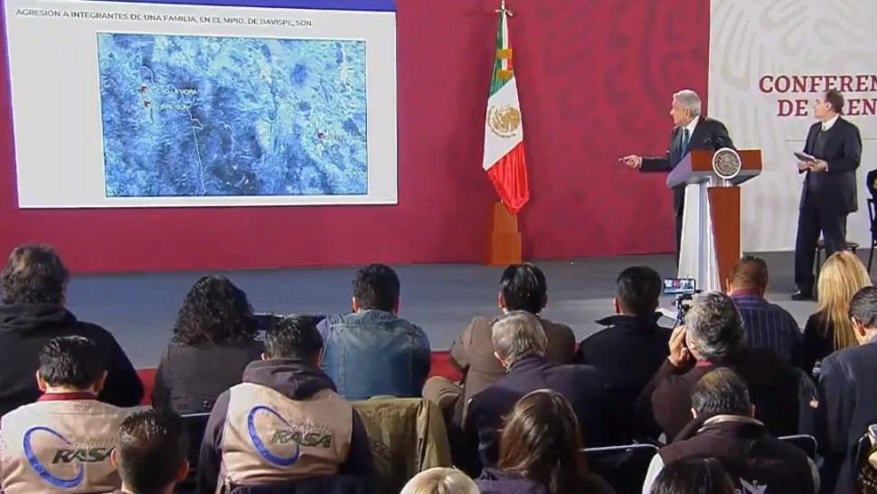 Foto: Se compromete AMLO a dar con responsables de ataque a familia LeBarón,5 de noviembre de 2019, Ciudad de México