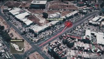 FOTO:Se desmaya y choca auto deportivo en Guanajuato, 13 noviembre 2019
