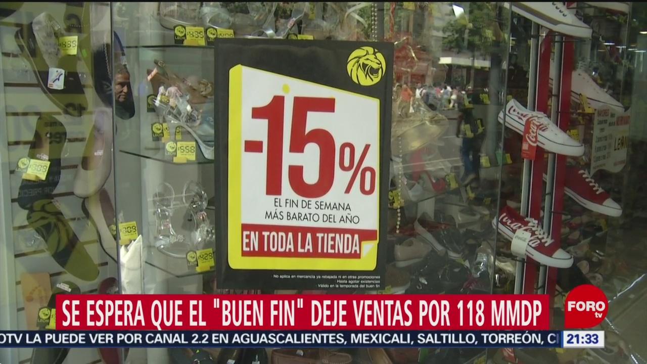 FOTO: Se espera que el 'Buen Fin' deje ventas por 118 mil millones de pesos, 16 noviembre 2019