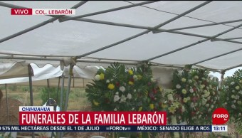 FOTO: Funerales Integrantes Familia Lebarón