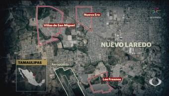 FOTO: Se registra enfrentamiento entre militares y civiles armados en Nuevo Laredo, 14 noviembre 2019