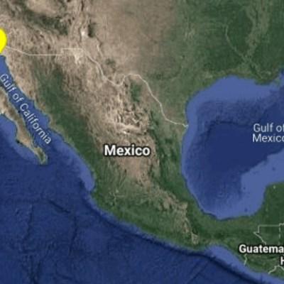 Se registra sismo de magnitud 4.2 en Baja California