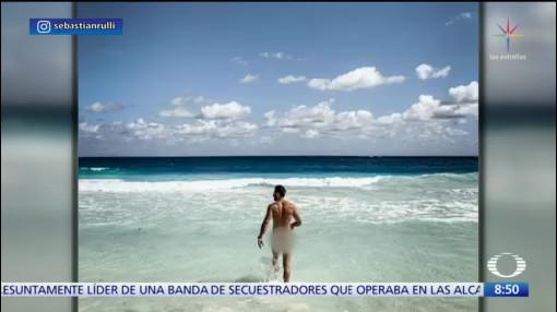 Sebastián Rulli publica imagen mostrando su trasero desnudo