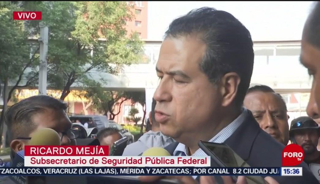 FOTO: Seguridad Pública federal llama diálogo, Bloqueo Policías Federales AICM