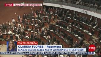 FOTO: Senado no repetirá votación para elegir presidente de la CNDH, 12 noviembre 2019