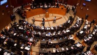Sesión en el Senado de la República.