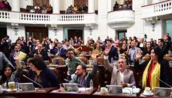 Sesión del Congreso de la CDMX.