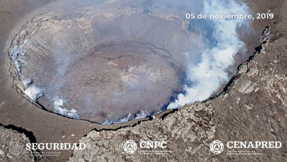 FOTO Sobrevuelo al volcán Popocatépetl