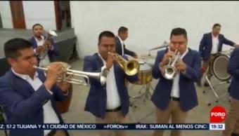 FOTO: SSC de la Ciudad de México tiene su banda sinaloense, 16 noviembre 2019