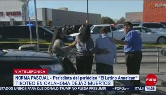 FOTO: Tiroteo en Oklahoma fue un ataque directo, 18 noviembre 2019