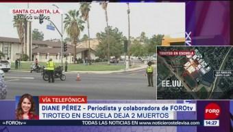 FOTO: Tiroteo Santa Clarita California deja 2 muertos