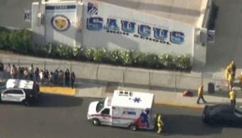 FOTO Reportan tiroteo en escuela de Santa Clarita, California (Reuters)