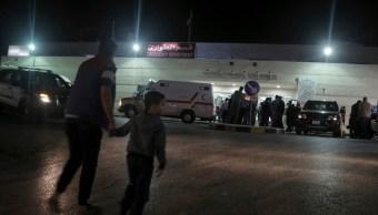 FOTO Todavía no se conoce móvil de ataque contra mexicanos en Jordania, dice embajador (AP)