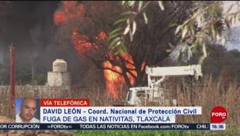 FOTO: Toma Clandestina Deja Dos Trabajadores Pemex Heridos Tlaxcala
