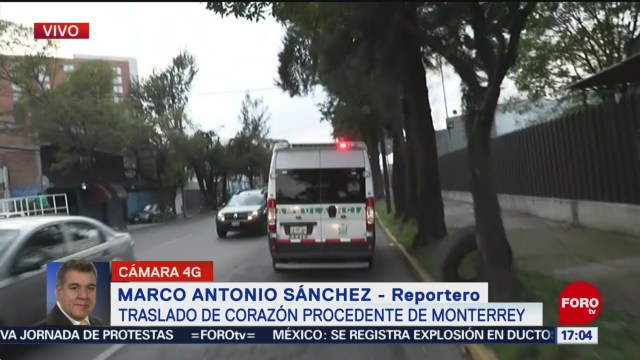 FOTO: Trasladan corazón Monterrey CDMX,