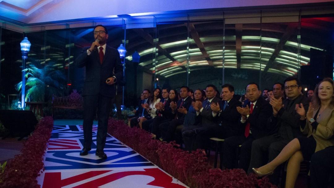 Víctor Hugo Romo rinde Primer Informe; asegura que aumentó la seguridad en la Miguel Hidalgo
