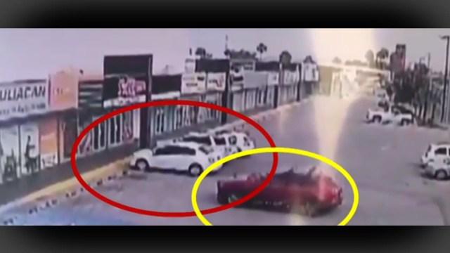 FOTO VIDEO: Así asesinaron a escolta de subsecretario de Seguridad de Sinaloa (FOROtv)