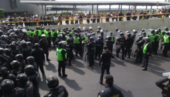 protesta aicm policia federales