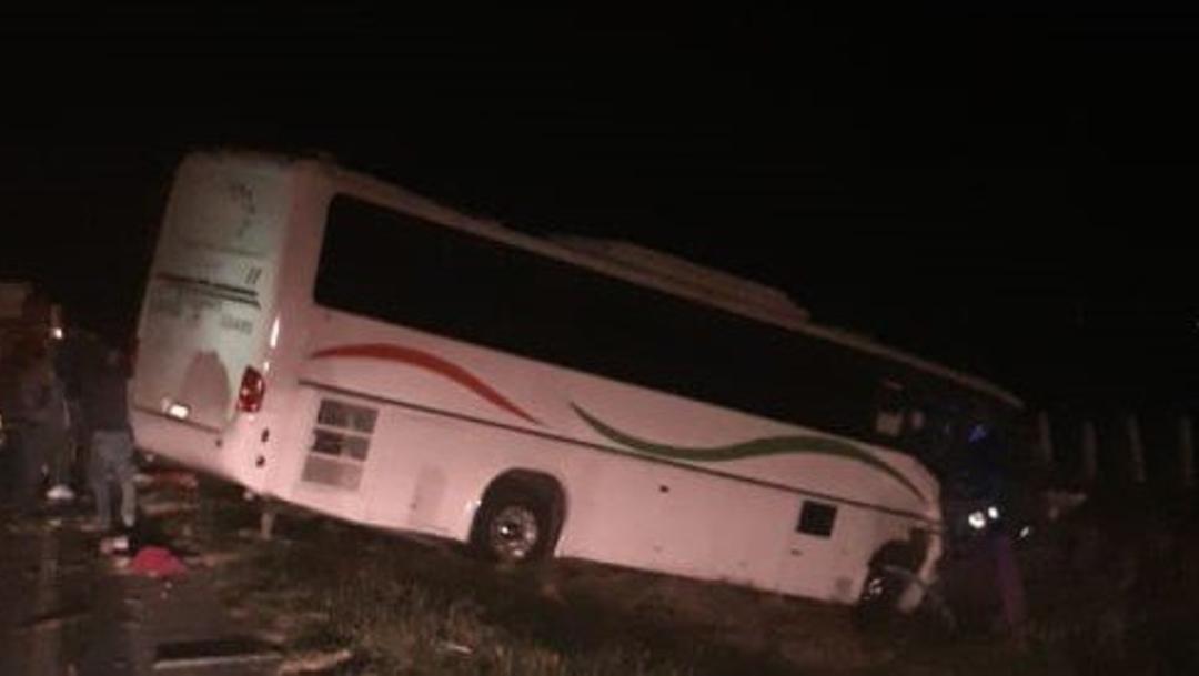 Foto: Accidente carretero en Jalisco deja 40 lesionados, 1 de diciembre de 2019, (Twitter @nncMX)