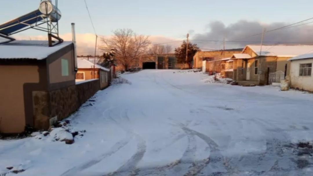 Foto: Continúa intenso frío y caída de nieve en Sonora, 28 de diciembre de 2019 (Noticieros Televisa)