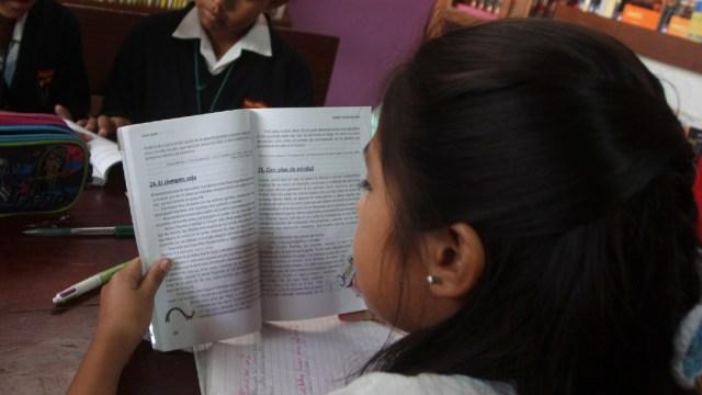 FOTO 35% de estudiantes mexicanos, sin competencia básica para lectura, matemáticas y ciencias (Cuartoscuro archivo/Arturo Pérez)