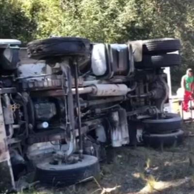 Accidente en Chiapas deja 17 peregrinos lesionados