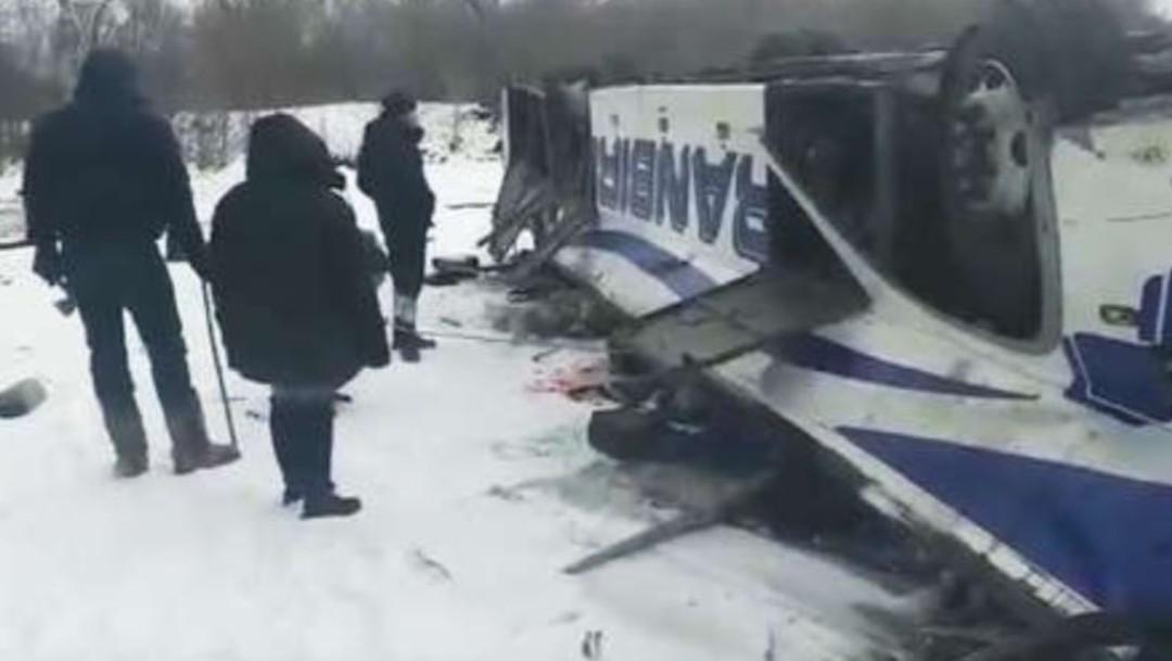 Accidente de autobús deja 19 muertos en Rusia