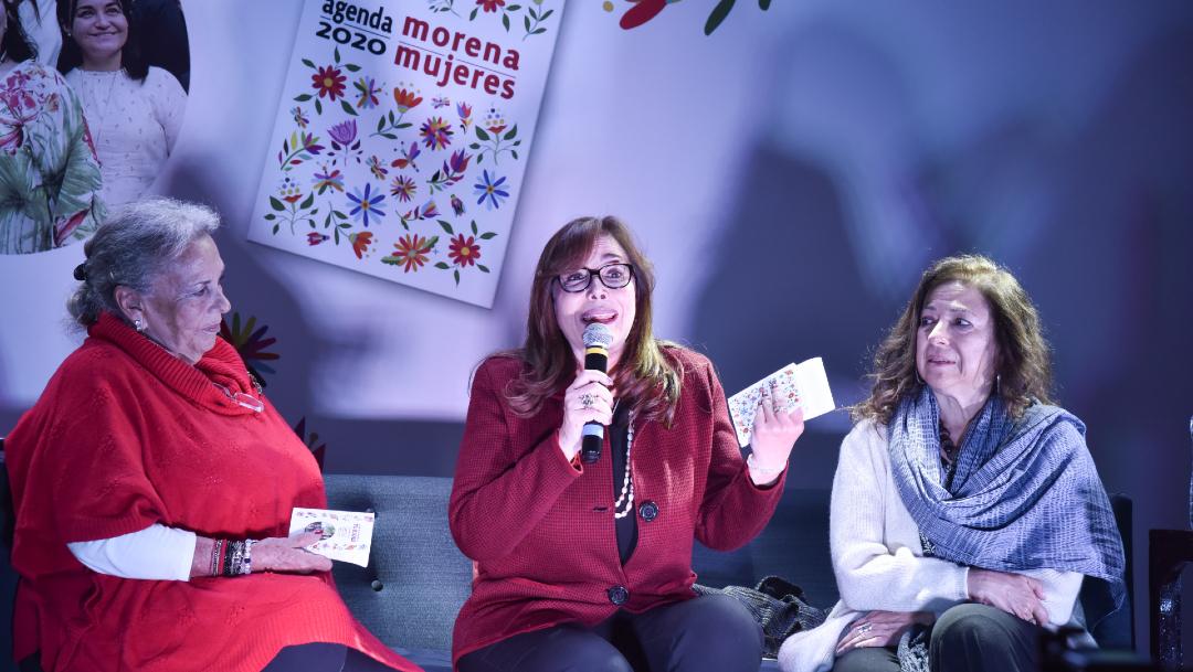FOTO: Morena anuncia que no cumplirá con acuerdo con el INE sobre reafiliación, 22 de diciembre de 2019 (Noticieros Televisa)