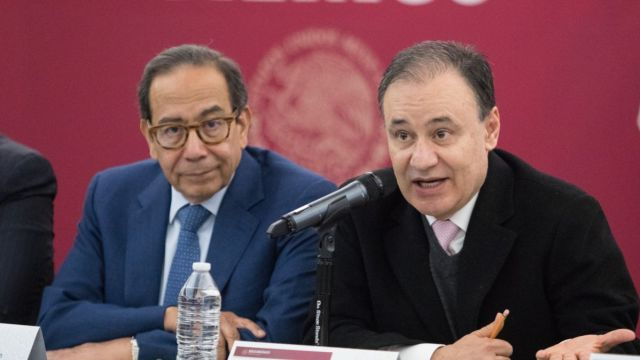 Alfonso Durazo se reunió con el CCE.