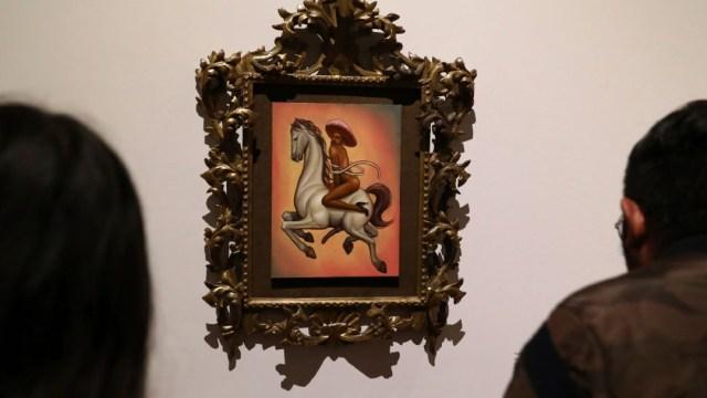"""FOTO Cuadro de Zapata desnudo es """"homenaje"""", considera AMLO (AP)"""