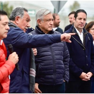 López Obrador inaugura central geotermoeléctrica en Michoacán