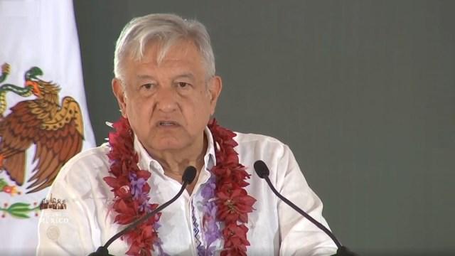 Foto: El presidente Andrés Manuel López Obrador encabeza una asamblea ejidal del programa sembrando vida en el municipio de Hidalgotitlán, Veracruz, 15 diciembre 2019