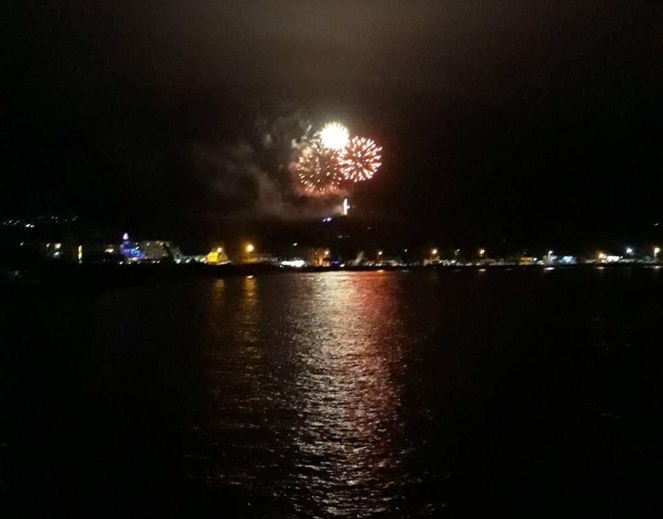 FOTO Año Nuevo 2020 en Samoa (Twitter)