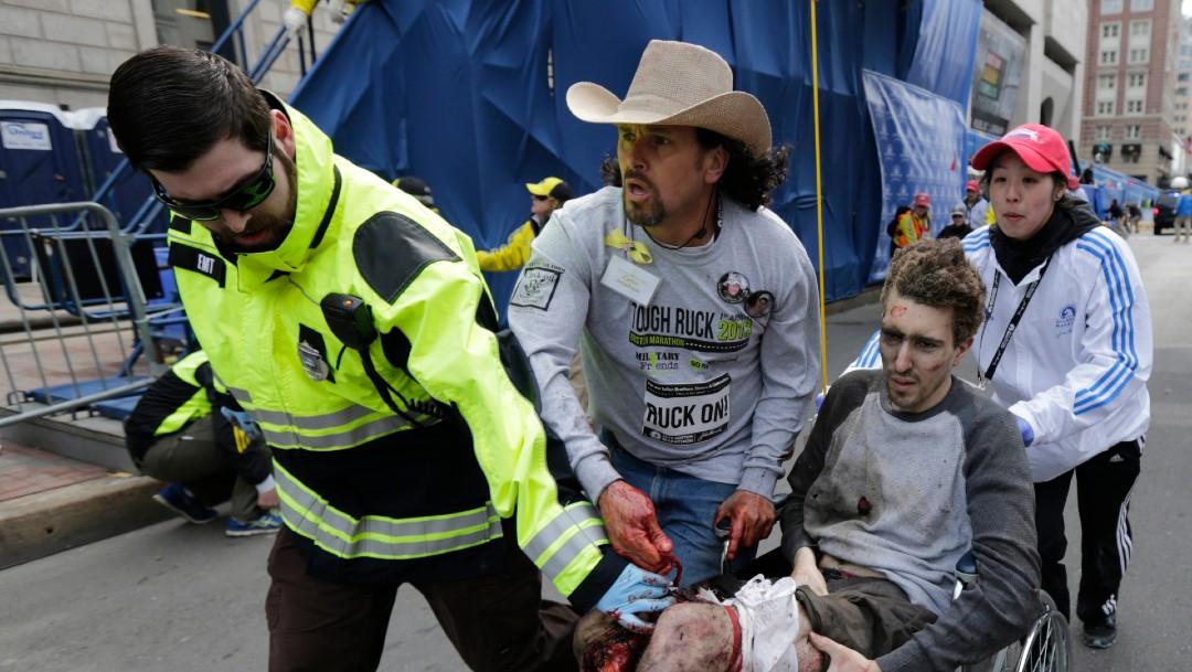 Foto: Atentado en el maratón de Boston