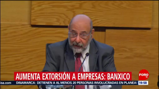 Foto: Extorsiones Empresas Aumentan Alerta Banxico 11 Diciembre 2019